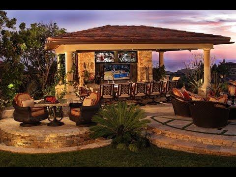 Luxury Landscaping Ideas - YouTube on Luxury Backyard Design id=66796