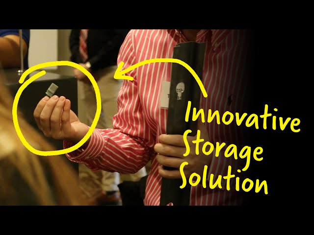 Capstone Project Delivers Innovative Shelving Solution