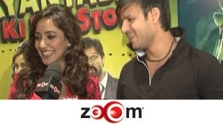 Vivek Oberoi & Neha Sharma talk about