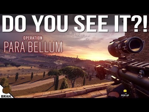 Did You Know About These? PARA BELLUM EDITION - Rainbow Six Siege Hidden Easter Eggs & Details #4
