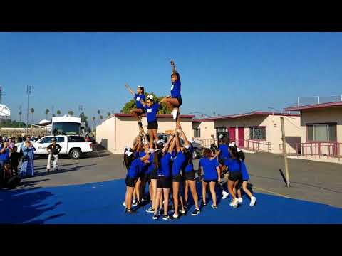 Kylies cheer performance at West Covina H.S