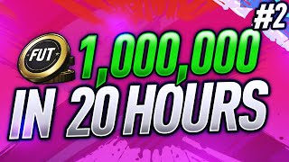 0 TO 1,000,000 IN 20 HOURS FIFA 21 | EPISODE 2