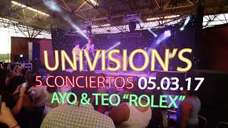 "Ayo & Teo ""Rolex"" Video"