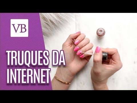 Unhas | Truques estranhos da internet - Você Bonita (27/08/18)