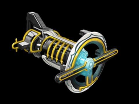 Laser gun warframe builder