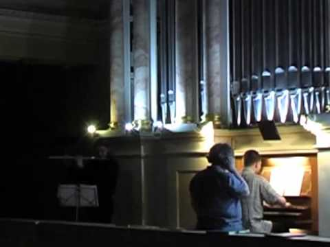 Иоганн Себастьян Бах - Соната II для флейты и клавира ми-бемоль мажор