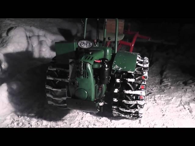Agria 2800 mit Berning DI8 Motoren