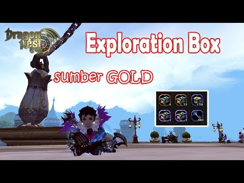Sumber GOLD-Exploration Box,Dragon Nest INA