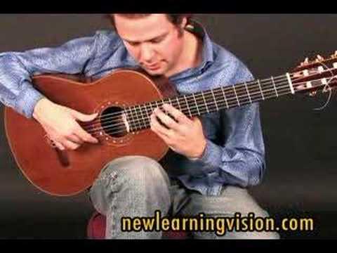 Demo of flamenco guitar lesson (Tarantas) by Adam del Monte