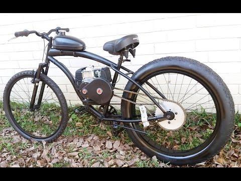 Fat Tire Bike Sikk Ufo Motorized With Shift Kit Doovi