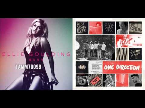 Ellie Goulding vs. One Direction - Best Burn Ever (Burn vs. Best Song Ever) (Mashup Mix)