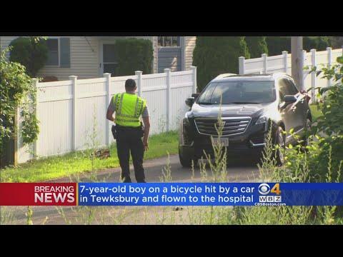 7-Year-Old On Bicycle Hit By Car In Tewksbury