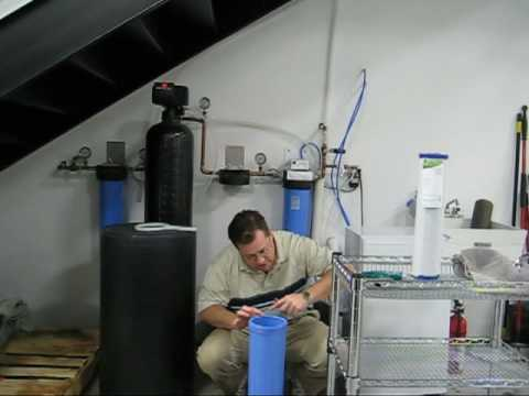 Whole House Water Filter Overview Youtube