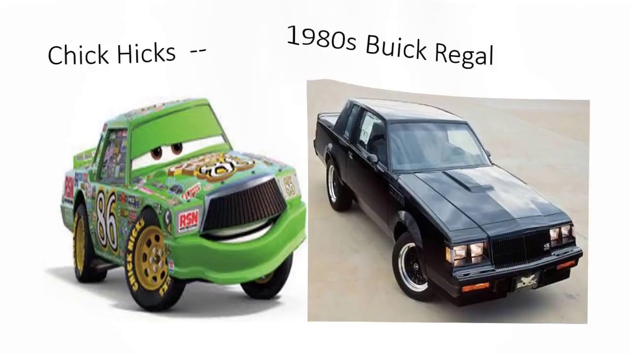 Cars Characters And Their Real Life Counterparts Youtube