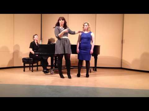 Jennifer Rowley Vocal Masterclass - Hartt School of Music 5/7