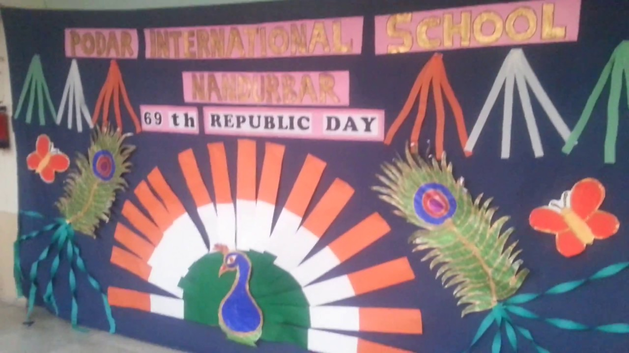 Pis ndb art music 26 jan 2018 school decoration craft for 26 january decoration