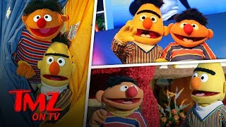 Bert and Ernie Are Finally Out? | TMZ TV