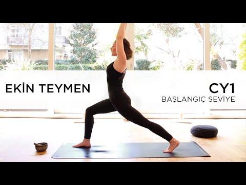CY1- Başlangıç Seviye ~ Cihangir Yoga - Ekin Teymen