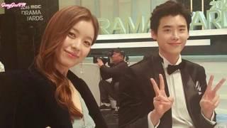 Lee Jong Suk x Han Hyo Joo - JongJoo Couple Moment at MBC Awards 2016 Part 1