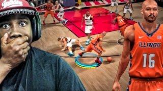 NBA 2K17 MOBILE MY CAREER GAMEPLAY - BREAKING ANKLES IN COLLEGE! Ep. 2