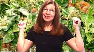 Fabulous Lambs Lettuce Salad! Recipe With Homemade Croutons And Delicious Warm Egg!