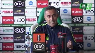 Conferência de Imprensa Antevisão: Vitória SC x Rio Ave FC
