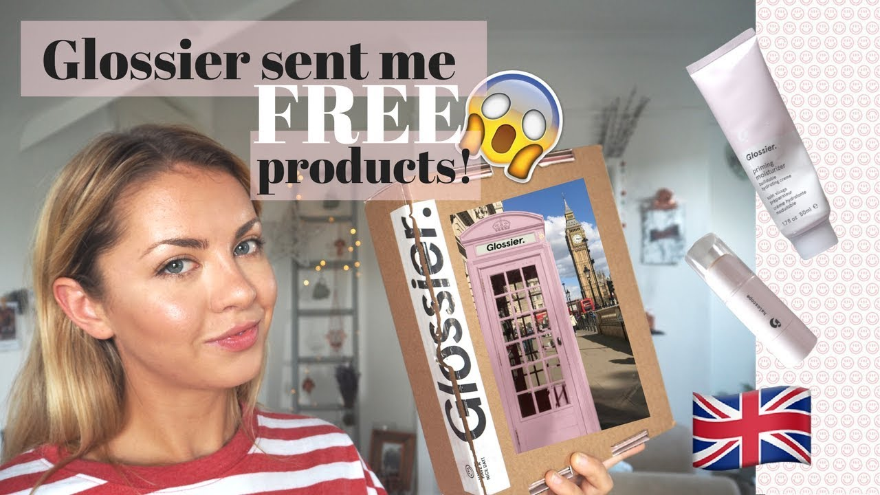 FREE GLOSSIER PRODUCTS?! (+ DISCOUNT CODE) | Bethanymew