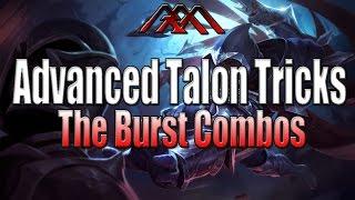Advanced Talon Tips & Tricks - The Burst Combos - League of Legends