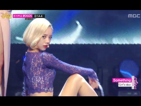 Girl's Day - Something, 걸스데이 - 썸씽, Music Core 20140125