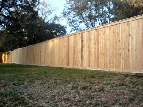 Paling Fence Designs Oak tree fence cap and kicker board fence youtube oak tree fence cap and kicker board fence workwithnaturefo
