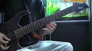 陰陽座の羅刹をギター演奏してみました。