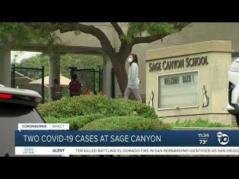 Parents react to COVID-19 cases at Sage Canyon School