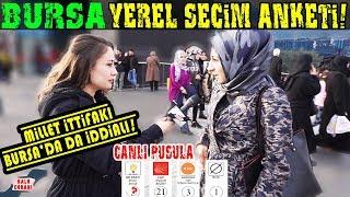 Ankara İstanbul'dan Sonra En Merak Edilen Şehir Bursa! İste Bursa Yerel Seçim Anketi
