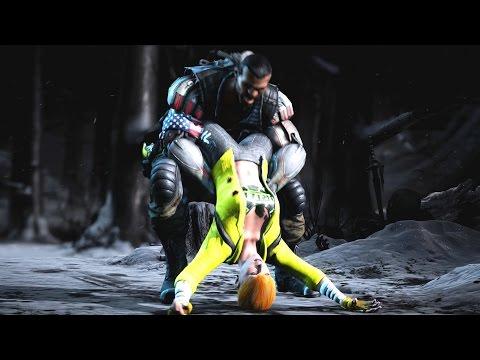 Save Mortal Kombat XL All X-Rays on April O'Neil TMNT Costume Mod PC 4k UHD 2160p Pics