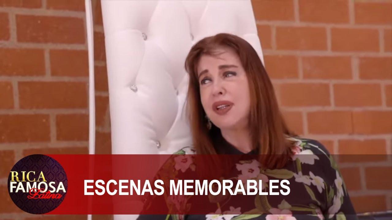 MIMÍ HABLA DE MAS Y LE LLAMA MOSCA MUERTA A SCARLET   Rica Famosa Latina   Escenas Memorables