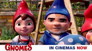 Gnomeo & Juliet are back in a brand new adventure! #SherlockGnomes