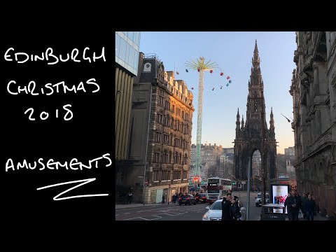 Edinburgh Christmas 2018 - Rides & Attractions