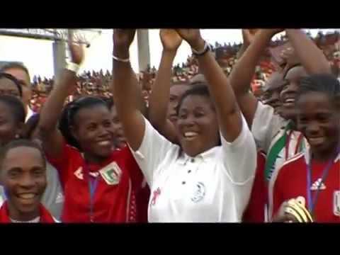 Finale CAN Féminine 2008   Guinée Equatoriale Malabo