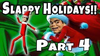 Slappy Vacaciones Parte 4! ¡Elfo recupera la magia! ¡Baila Fortnite!