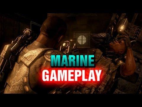 Marine: Species Death Match Gameplay - AVP 2010