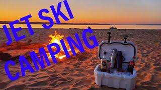 Jet Ski Camping on Remote Island #2 ***EPIC CAMPING TRIP***
