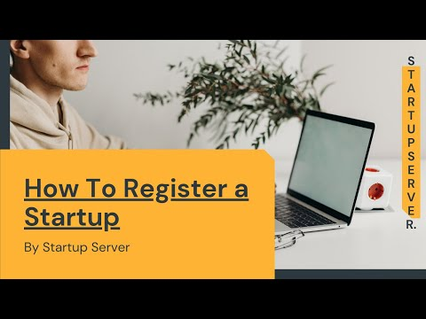 How to Register a Startup?