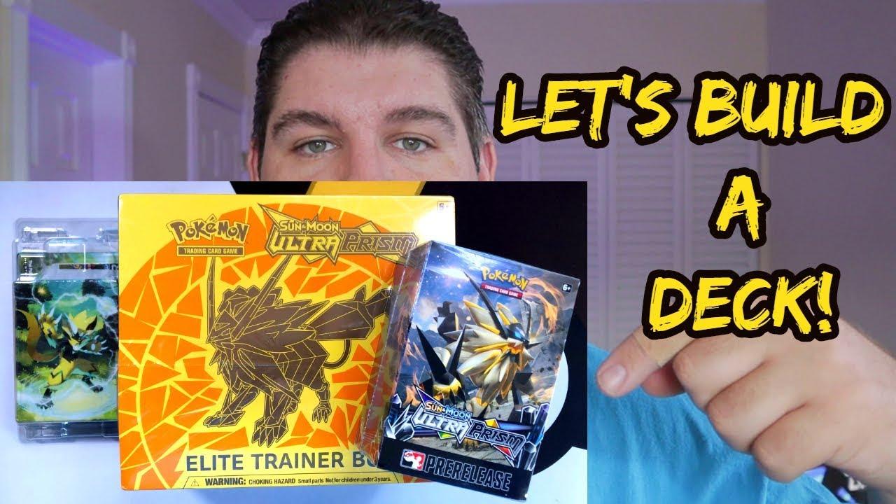 HOW TO Build a Pokemon TCG Deck!? | Build & Battle | ETB [1/7]