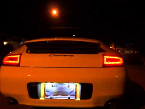 Porsche 996 To 997 Led Depo Rear Light Example Night Youtube