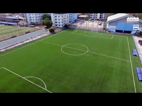 สนามฟุตบอลหญ้าเทียมมาตรฐานฟีฟ่า โรงเรียนกีฬาจังหวัดชลบุรี