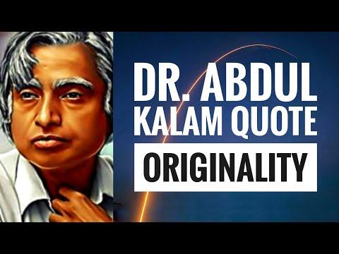 Motivational Quotes of Dr. APJ Abdul Kalam | Originality | WhatsApp Status | Vertical Video