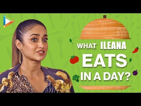 What I Eat In A Day With Ileana DCruz | Secret Of Her Amazing Fitness | Bollywood Hungama