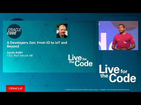 Keynotes: Oracle Code Singapore: Room Roselle Simpor 4700