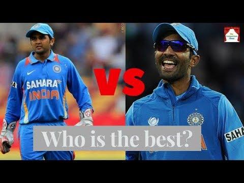 Dinesh Karthik vs Parthiv Patel Batting Comparison ? Centuries, Match, Runs and more