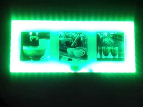 Bilderrahmen Mit Beleuchtung | Led Bilderrahmen Mit Fernbedienung Youtube
